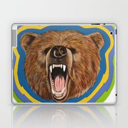 Retro Bear Laptop & iPad Skin