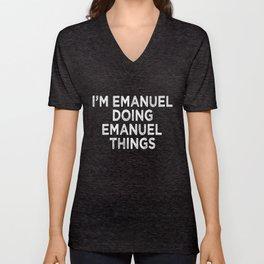 Emanuel Unisex V-Neck