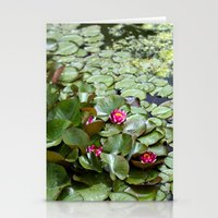 lotus flower Stationery Cards featuring Lotus by Melissa Schantz Photography