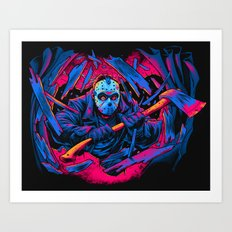 FRIDAY THE 13TH: FORCEFUL ENTRY Art Print