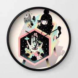 Mystery Garden Wall Clock