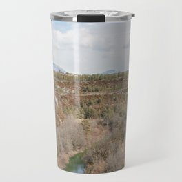 River in the French mountains Travel Mug