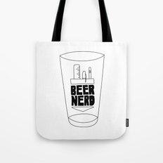 Beer Nerd Tote Bag
