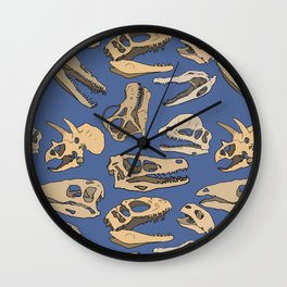 Paleontology Wall Clock