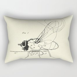 Fishing Fly-1968 Rectangular Pillow
