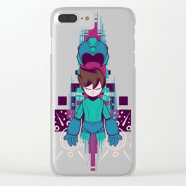 The Mega Man Clear iPhone Case
