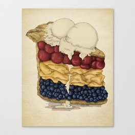 American Pie Canvas Print