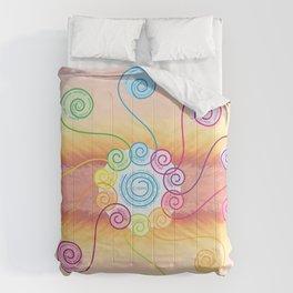 pink muse v1 Comforters
