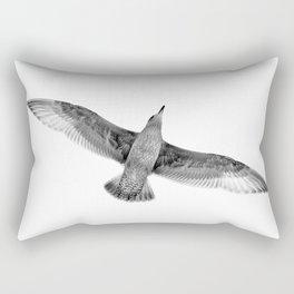 Seagull in Flight Rectangular Pillow