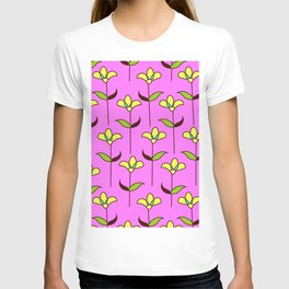 Genevieve - Pink and Yellow T-shirt