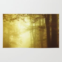 All Is wet - Misty Fall Forest Rug