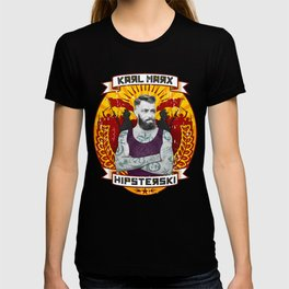 Karl Marx Hipster T-shirt