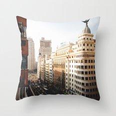 Gran Vía Throw Pillow