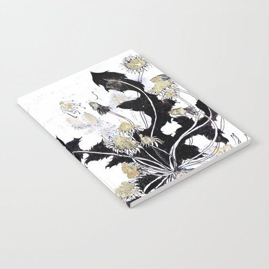 Gold Dandelions Notebook