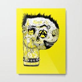 P – Punk Metal Print