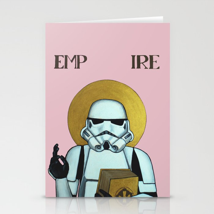 """""""EMPIRE"""" - Star Wars, Stormtrooper Stationery Cards"""