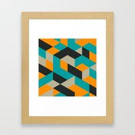 Tri V Framed Art Print