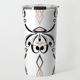 Pattern in style Art Deco 3 Travel Mug