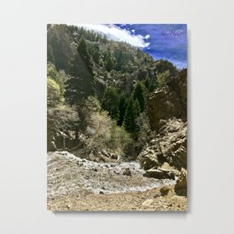 Adam's Canyon-Utah Metal Print