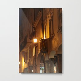 Pordenone (Italy) at midnight Metal Print