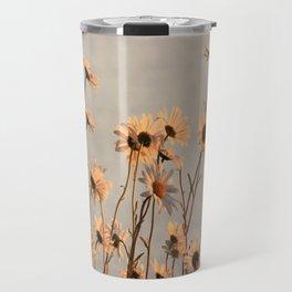 Daisies of the river bank Travel Mug