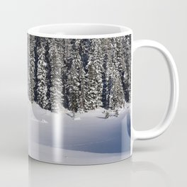 Cabin in the Snow Coffee Mug