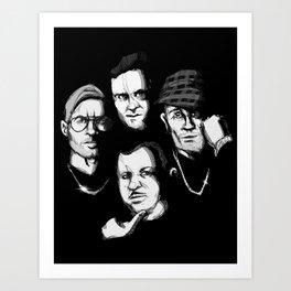 Death Row Art Print
