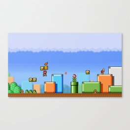 World 1-1 Canvas Print