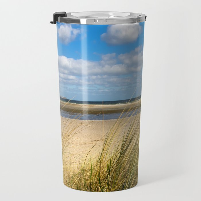 Beach whispers Travel Mug