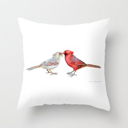 I Grub You by Teresa Thompson Throw Pillow
