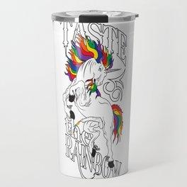 Taste The Rainbow (NSFW) Travel Mug