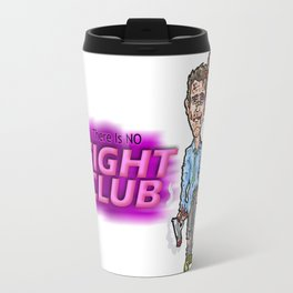 Edward Norton and Brad Pitt as Tyler Durden in...  The Fight Club Cartoon!  Travel Mug