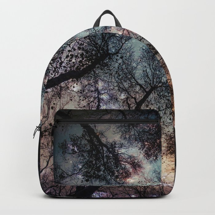 Starry Sky in the Forest Rucksack