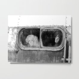 Motionless Journey Metal Print
