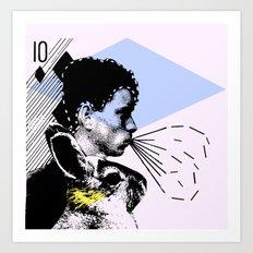 poster hero  Art Print