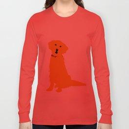 Golden Retriever  Dog Long Sleeve T-shirt