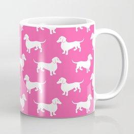 Pink Dachshunds Coffee Mug