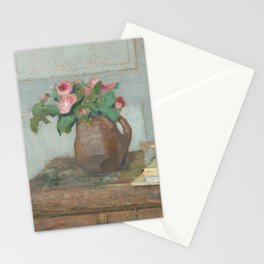The Artist's Paint Box and Moss Roses Stationery Cards