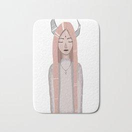 Moon girl Bath Mat