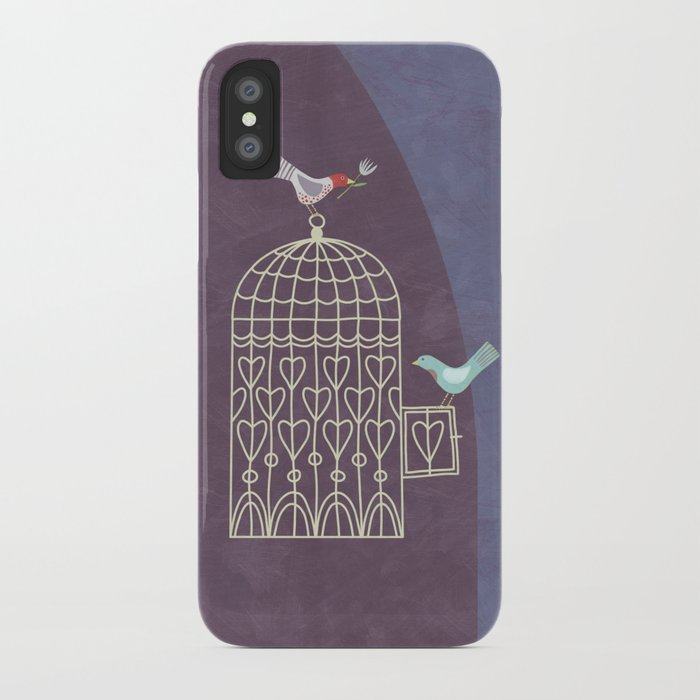 Leaving the Birdcage iPhone Case