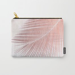 Palm leaf synchronicity - rose gold Carry-All Pouch