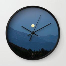 Rising of the Full Moon (California) Wall Clock