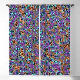 Vibrant Bubbles Blackout Curtain