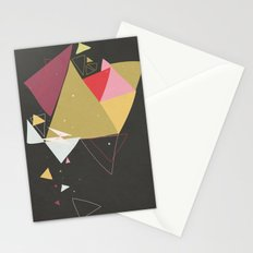 Exploding Triangles//Four Stationery Cards