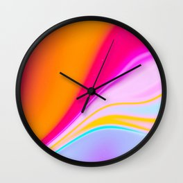 Frosted Sunrise Wall Clock