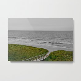 Ponte Vedra Beach on Sunset- Special Edition Metal Print