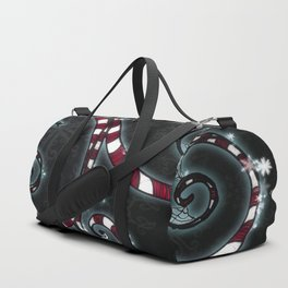 Candy Cane Vine Duffle Bag