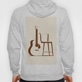 Guitar and Chair Hoody