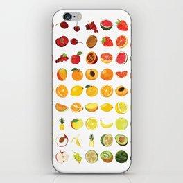 Fruits Galore iPhone Skin
