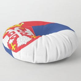 flag of Serbia-balkan,serbian,europe,yugoslavia, Pannonian,Belgrade,Novi Sad,nis,kragujevac Floor Pillow